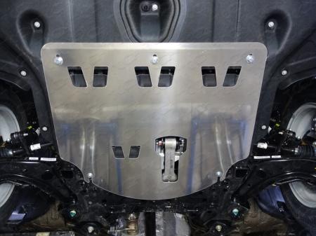 Kia Sportage 2016 (двг. 2.0, полный привод) Защита картера (алюминий) 4 мм